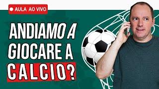 Frases em italiano sobre futebol | Aula ao vivo de Italiano 02/06