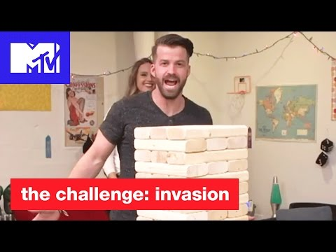 Ultimate Jenga Challenge w/ The Challenge Champs! | The Challenge: Invasion | MTV
