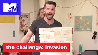 Ultimate Jenga Challenge w/ The Challenge Champs! | The Challenge: Invasion | MTV