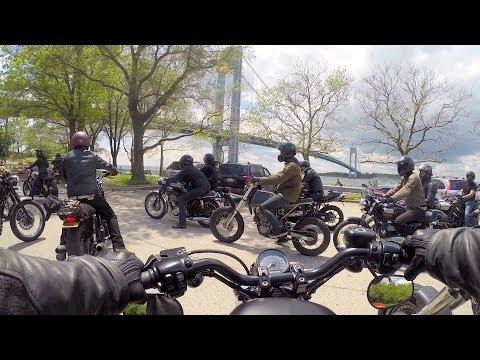 NYC - Deus Ex Machina Sunday Mass on my Iron 883 - 5.18.14 (Part 2 of 2) - Right Thing Motos