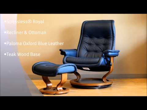 ... Reupholster Ekornes Stressless Chair By Stressless Sunrise Office Chair  In Paloma Chocolate Lea ...