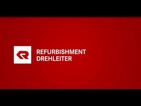 Rosenbauer Refurbishment Drehleitern - Aus Alt wird Neu.