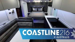 Coastline 21'6 Family Caravan Internal Overview