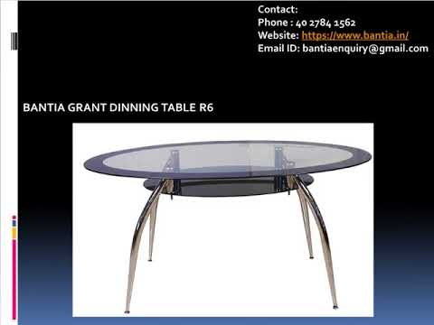 Dining Tables Designs: Buy BANTIA FURNITURES Online in Bangalore.