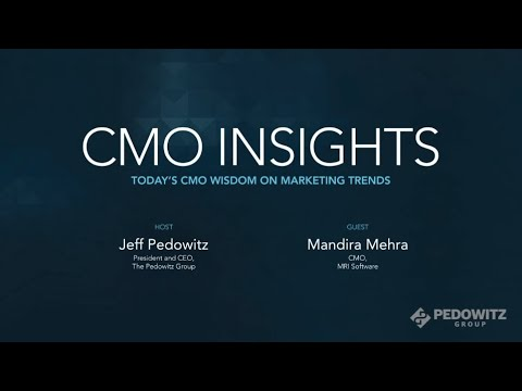 CMO Insights: Mandira Mehra, MRI Software