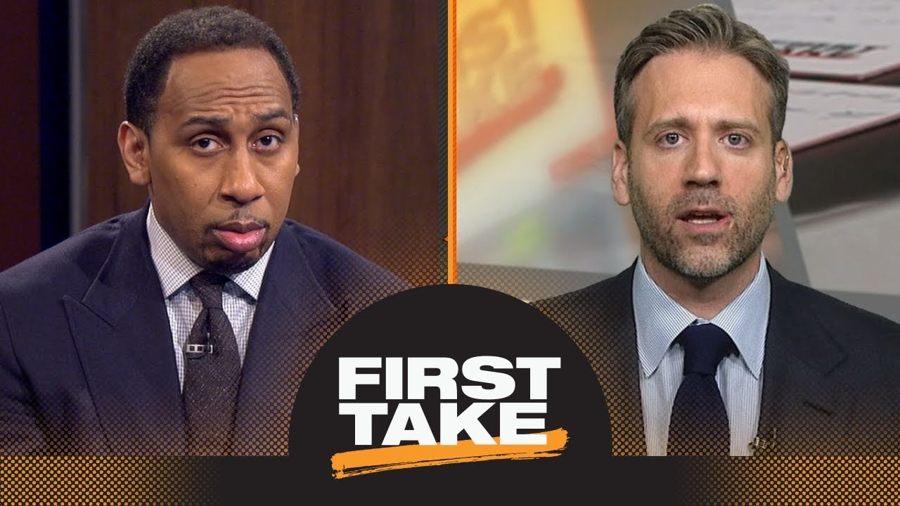 Stephen A. and Max react to Draymond Green focusing on championship, not Rockets | First Take | ESPN