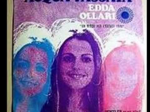 EDDA OLLARI   -  ACQUA PASSATA(1970)