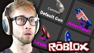 Roblox - Murdery Mystery 2 - 100 GUN UNBOXING!!