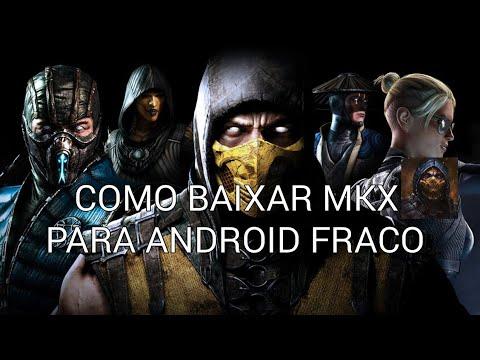Novidade! Mortal kombat x para android fraco