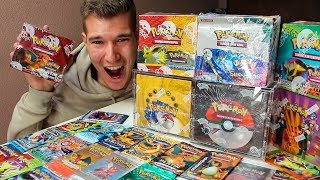 Alle meine Pokémon Booster & Displays