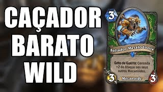 DECK BARATO QUE DA LETHAL NO TURNO 5 ( Mech Hunter Wild ) | Hearthstone