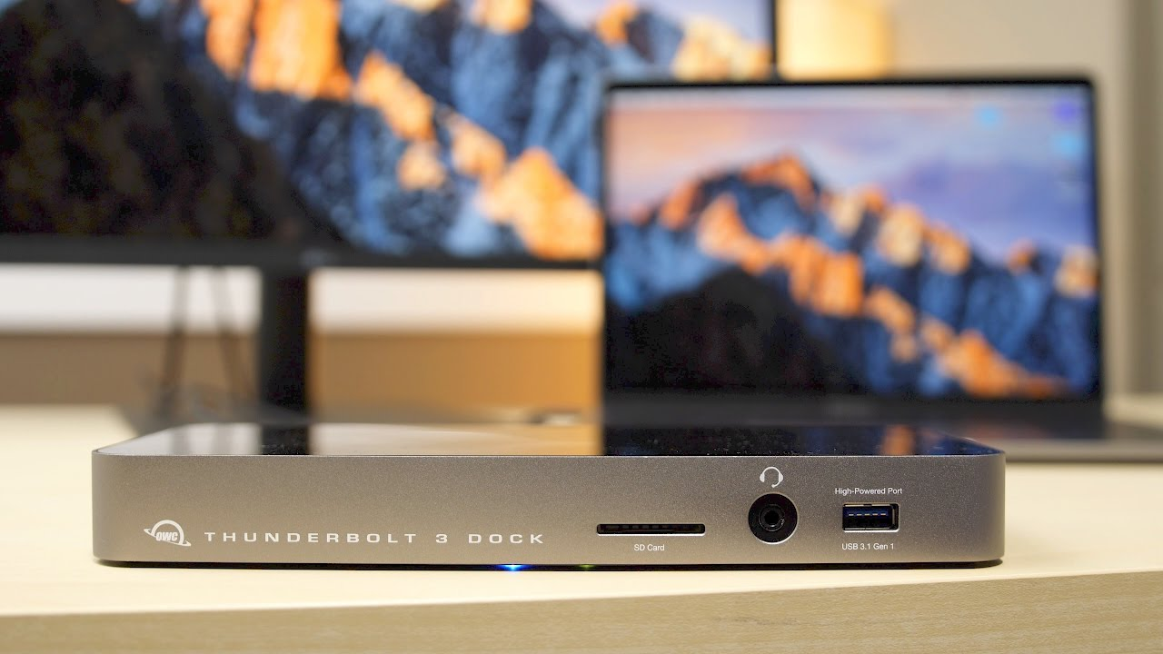 Review: OWC Thunderbolt 3 dock is the only game in town for
