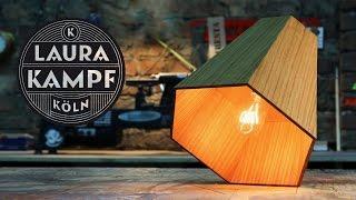 Laura´s Wooden Hexagon Lamp