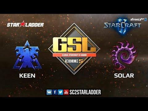 2018 GSL Season 2 Ro32 Group С Match 2: KeeN (T) vs Solar (Z)