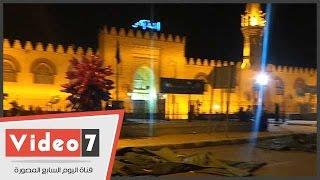 بالفيديو.. استعدادات مسجد عمرو بن العاص لصلاة عيد الأضحى