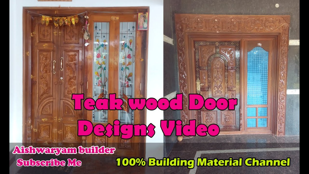 Wooden doors designs home doors modern front door for Wood door design catalogue