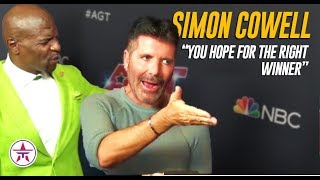 Simon Cowell SLAMS The Emmy's + Terry Crews AGT's Host FOREVER? | America's Got Talent