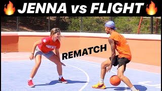 "1v1 REMATCH vs  FLIGHT!! ""June Flight"" makes a comes back!!"