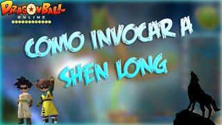 Como Invocar a Shen Long - Dragon Ball Online Global
