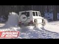 Mercedes G Class - Fun in the Snow