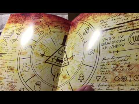 1 и 2 дневник Диппера распаковка :-)