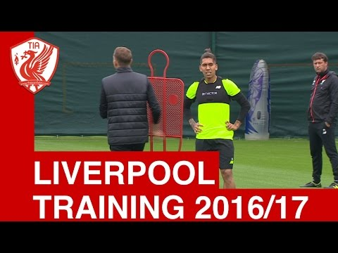 Liverpool FC Training - Season 2016/17