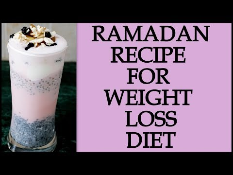 Ramadan Diet/Meal Plan | How to Lose Weight Fast in Ramadan | Pudding Recipe | Fat to Fab