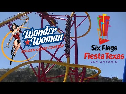 Ride Review: Wonder Woman Golden Lasso Coaster at Six Flags