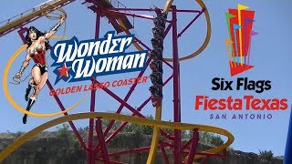 Ride Review: Wonder Woman Golden Lasso Coaster at Six Flags Fiesta Texas