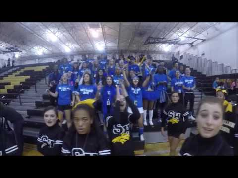 Sterling Heights High School Homecoming Pep-Rally (10-21-16)