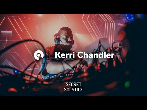 Kerri Chandler @ Secret Solstice 2017 - CircoLoco Stage (BE-AT.TV)