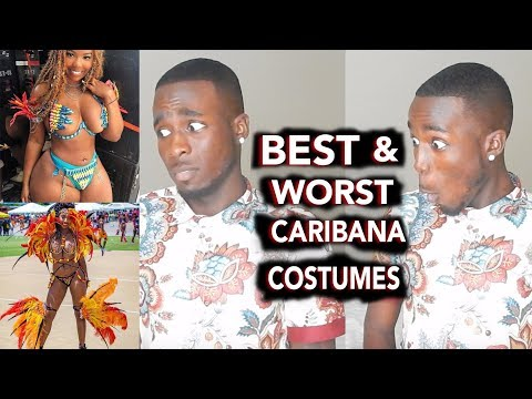 BEST AND WORST COSTUMES OF 2017 // CROP OVER & CARIBANA EDITION!!