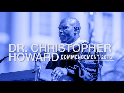 2016 Christopher Newport Commencement Speech
