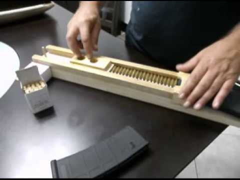 Magazine Loader AR 15 PMAG - YouTube