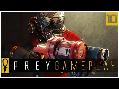 Let's Play PREY Gameplay Part 10 - G.U.T.S. - Walkthrough