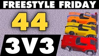 vuclip Rocket League | Freestyle Friday 44 | 3v3 (BEST GOALS)