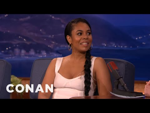 Regina Hall's CrotchBased Relationship Advice   CONAN on TBS