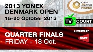 QF (TV Court) - MD - Lee Y.D. / Yoo Y.S. vs Koo K.K. / Tan B.H. - 2013 Yonex Denmark Open