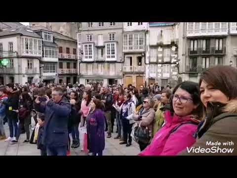 Manifestación en Viveiro