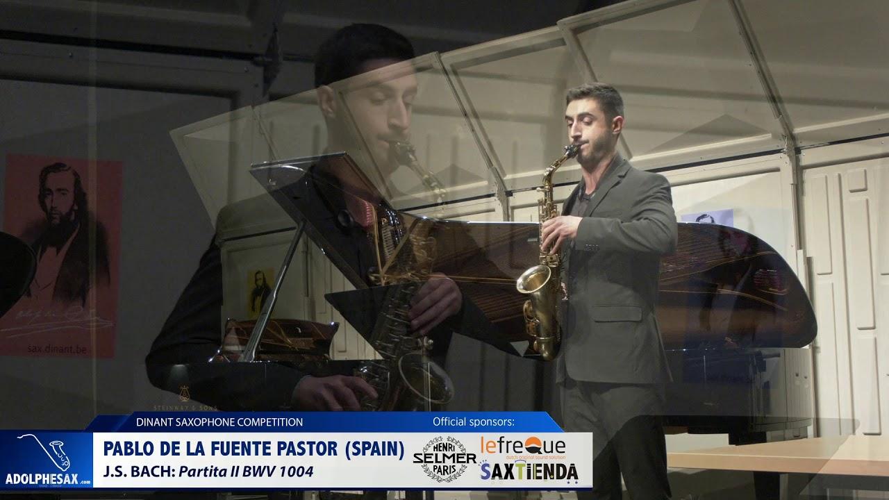 Pablo de la Fuente Pastor (Spain) - Partita II by J.S.Bach (Dinant 2019)