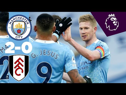 Manchester City Fulham Goals And Highlights