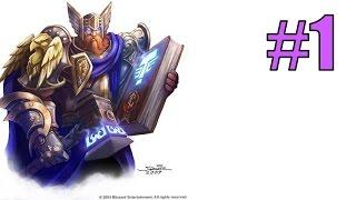 Начало прокачки Паладина в World of Warcraft: Warlords of Draenor - создаю перса и начинаю