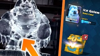 free ice golem how to get new cards in clash royale ice golem gameplay deck