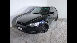 (SOLD) Subaru Liberty AWD 3.0L 6cyl 6 Speed Manual Sedan 2006 Review
