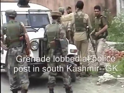 Grenade Lobbed At Police Post In South Kashmir