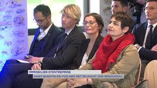 Yvelines | Immobilier d'entreprise : Saint-Quentin-en-Yvelines met en avant son renouveau