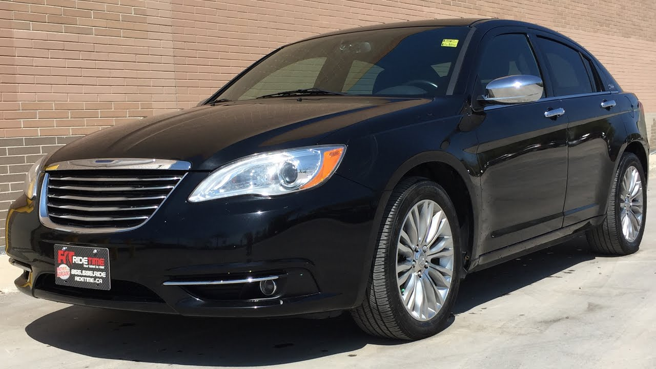 Chrysler 200 Limited >> 2012 Chrysler 200 Limited - Sunroof, 3.6L V6, Dual Rear