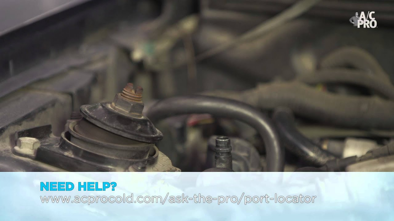 How To Find The Low Pressure Port Youtube 93 Tercel A C Compressor Wiring Diagram Ac Pro