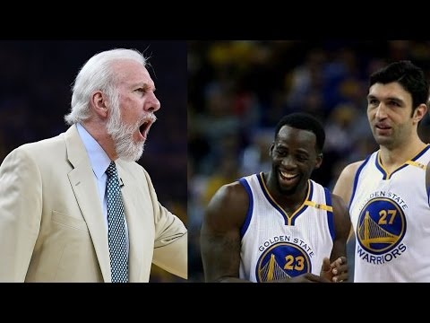 Draymond Green RESPONDS to Coach Pop Calling Zaza Pachulia a Dirty Player