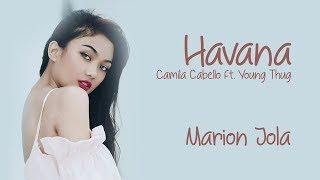 Gambar cover Marion Jola - Havana / Lirik Video (Indonesian Idol 2018)